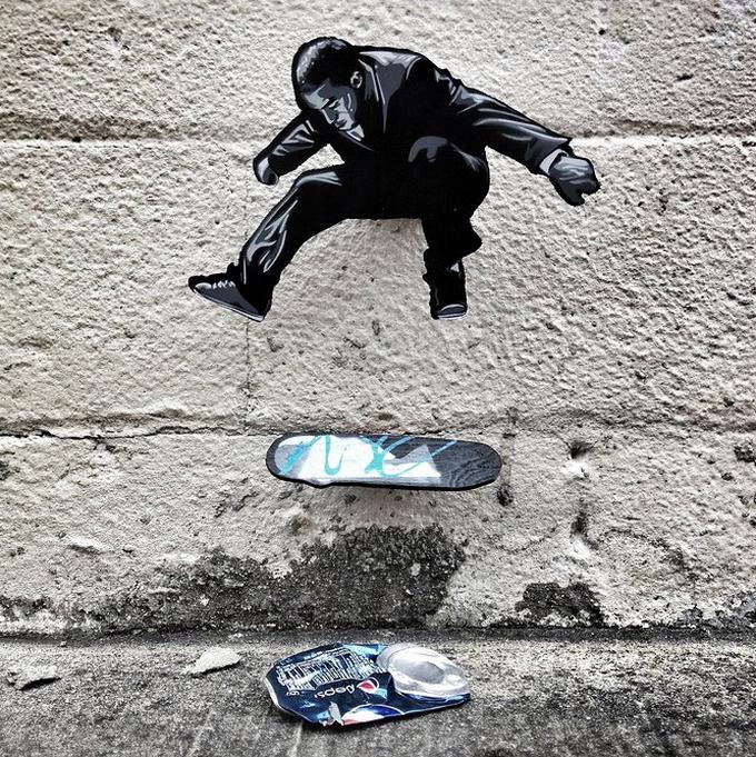 Уличный художник Joe Iurato