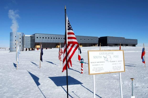 Участники «Клуба 300» экстремально развлекались в Антарктиде