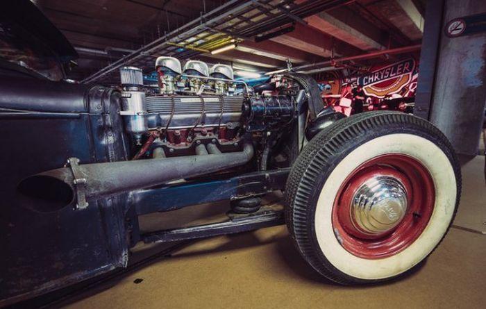 Выставка легендарных американских авто