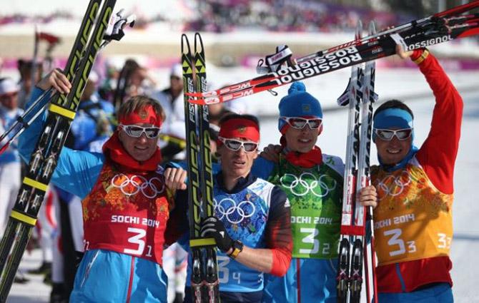 Кто выиграл медали для нашей сборной на Олимпийских играх в Сочи