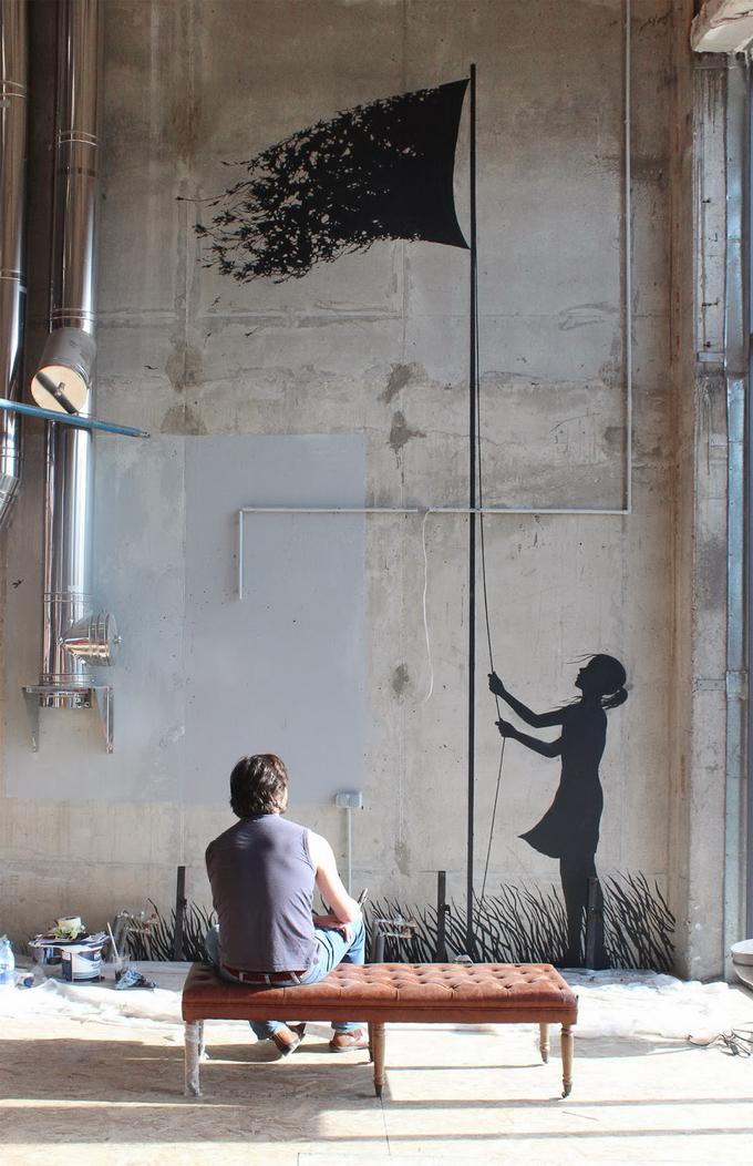 Уличный художник Pejac