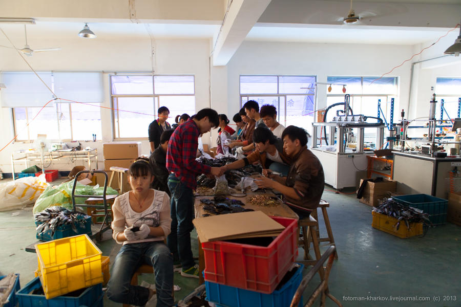 Как делают пластик в Китае