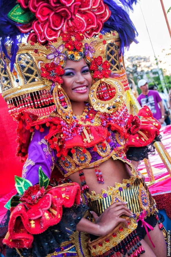Конкурент карнавалу в Бразилии — карнавал в Панаме