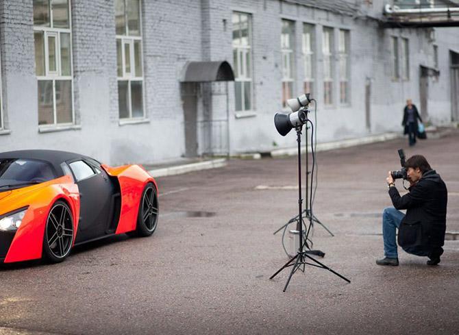 Как делают российские суперкары Marussia