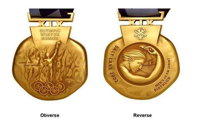 Эволюция дизайна медалей Олимпийских игр