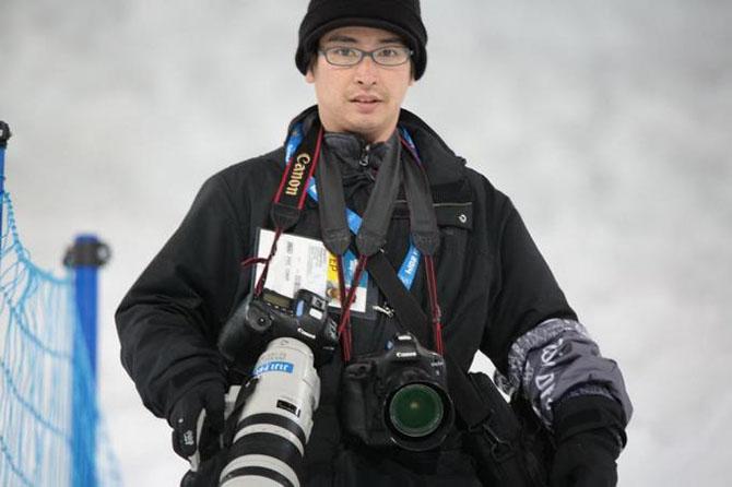 Как работают спортивные фотографы