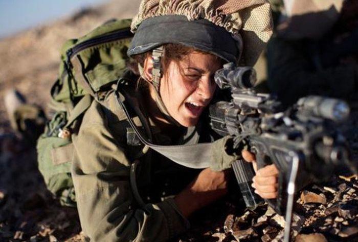 Девушки израильской армии