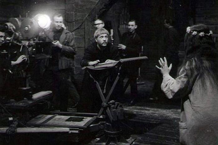 Фотографии со съемок знаменитых советских фильмов (79 фото)