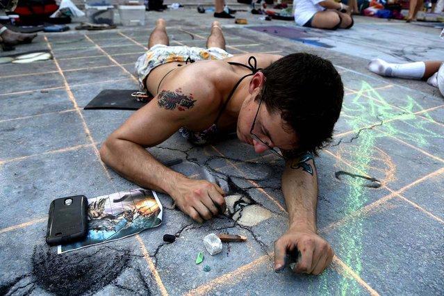 20-й Ежегодный Лейк-Уортский Фестиваль стрит-арта