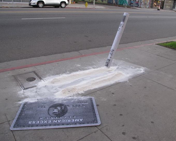 Уличный художник Plastic Jesus