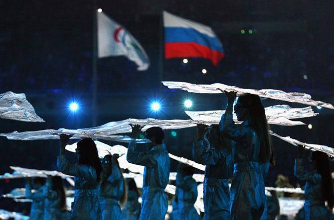 Сильные люди на Паралимпийских играх 2014 в Сочи