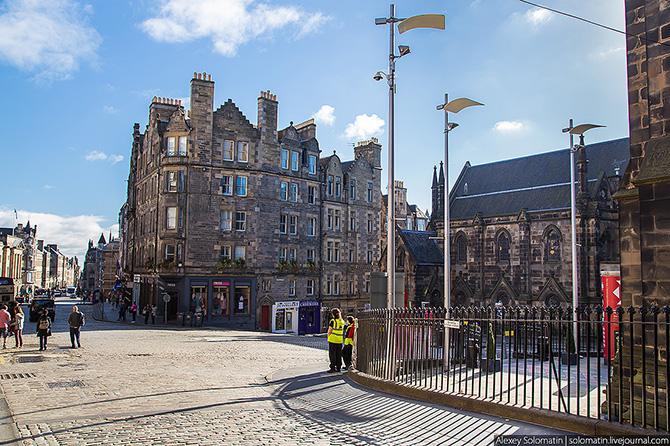 Прогулка по Эдинбургу