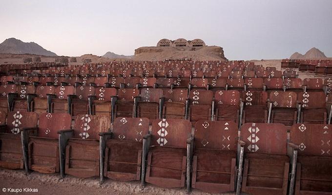Кинотеатр в пустыне Синай