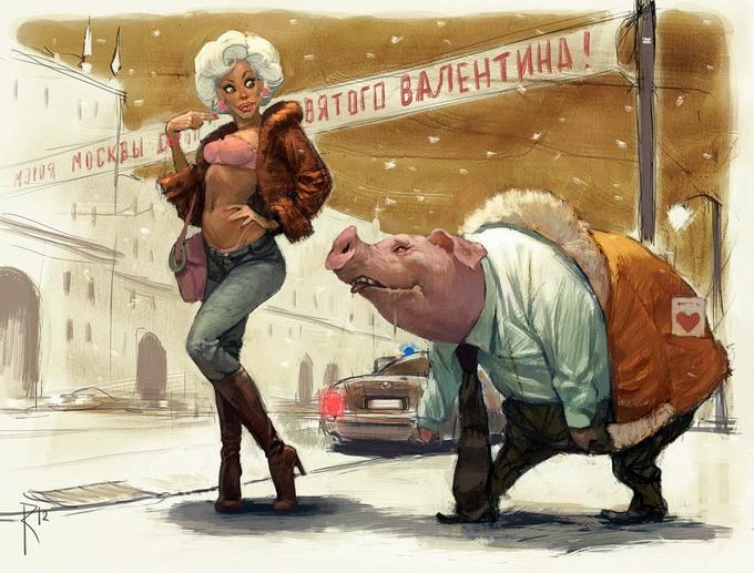 Новые работы Владимира Казака