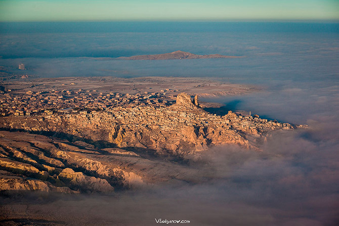 Путешествие по Каппадокии на воздушном шаре