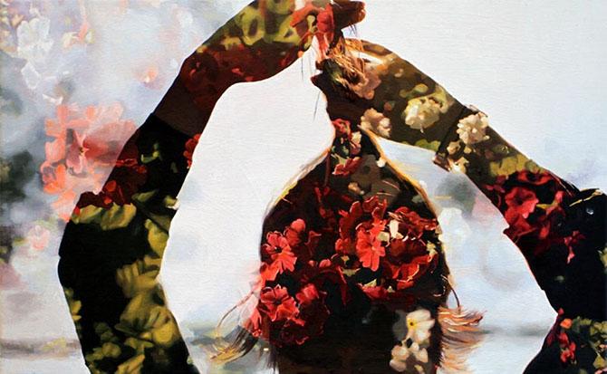 Двойная экспозиция на полотнах Пакайлы Рей Бин