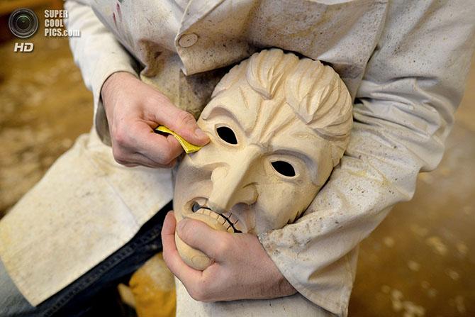 Искусство создания карнавальных масок