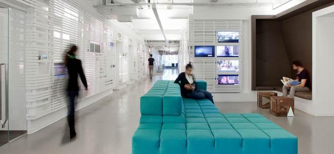 Офис MTV в Нью Йорке