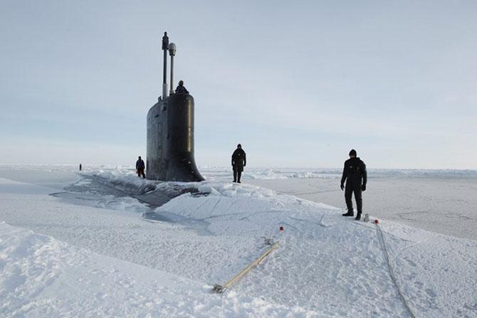 Как несут службу подводники Военно-морского флота США