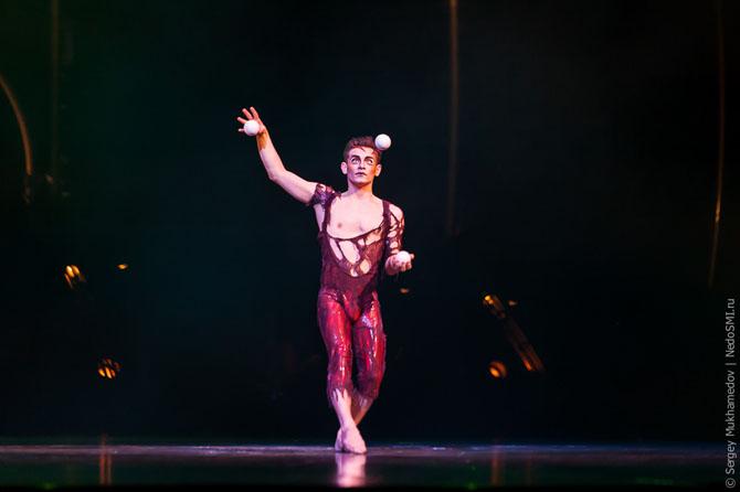 Как делаются представления цирка Дю Солей
