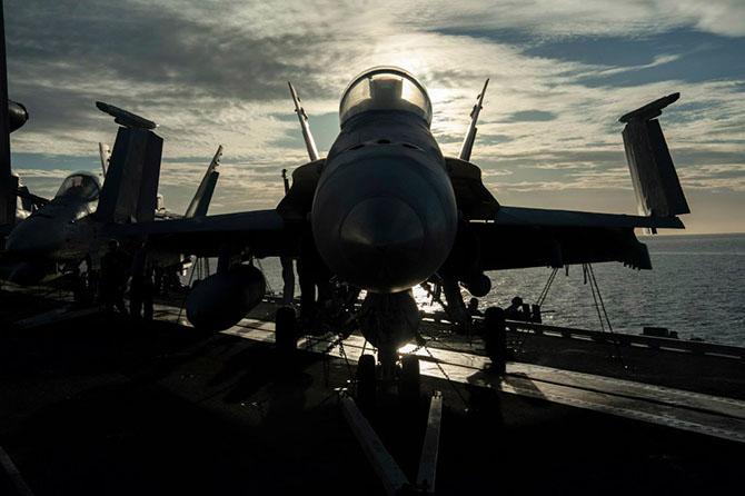 Экскурсия на авианосец «Джордж Буш»