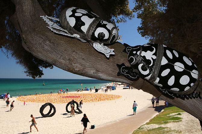Выставка скульптур у моря «Sculpture by the Sea»