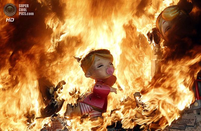 Как прошел праздник огня в Валенсии