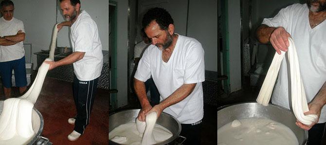 Как делают один из самых популярных сыров в Южной Италии