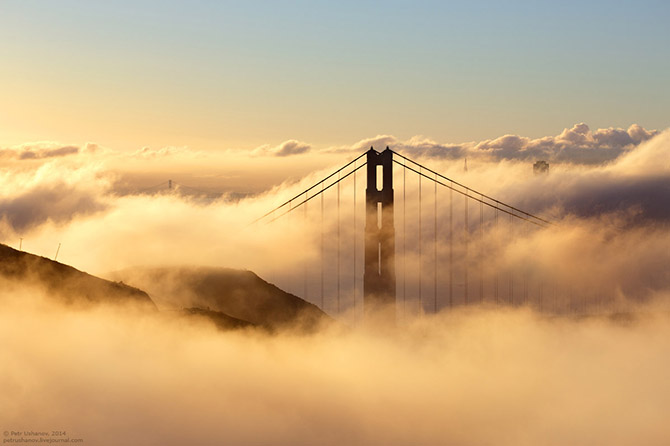 Сан-Франциско — город мостов и туманов