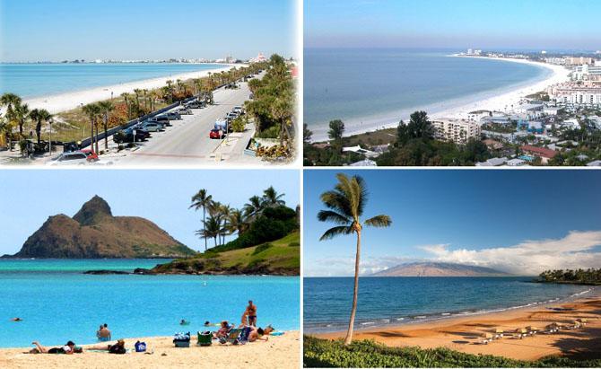 10 лучших пляжей в Америке