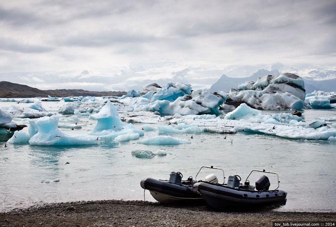 Ледниковая лагуна в Исландии