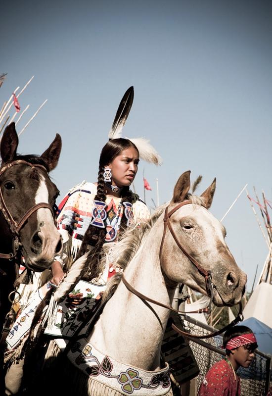 Как выглядят североамериканские индианки