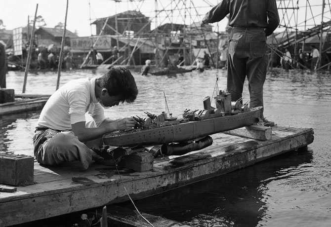 Фотографии Японии 1950-х годов