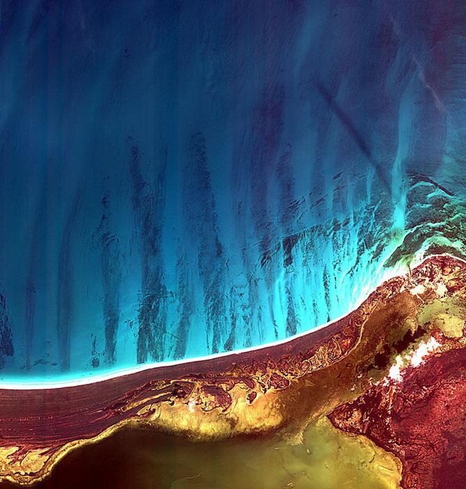Наша прекрасная планета – вид с орбиты
