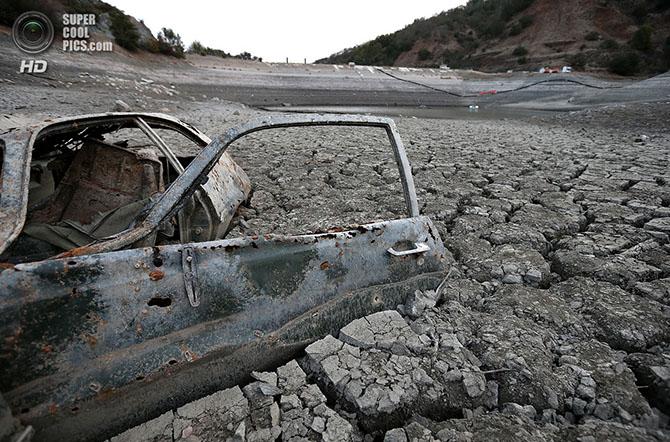Рекордная засуха в Калифорнии