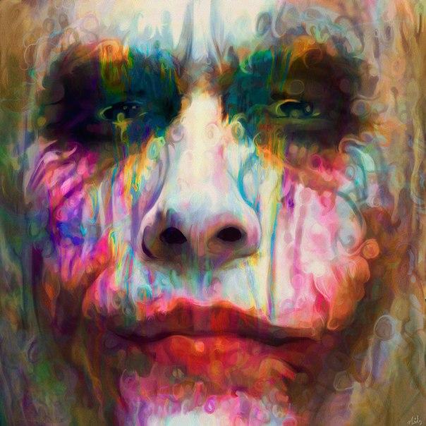 Психоделические картины Ники Баркла