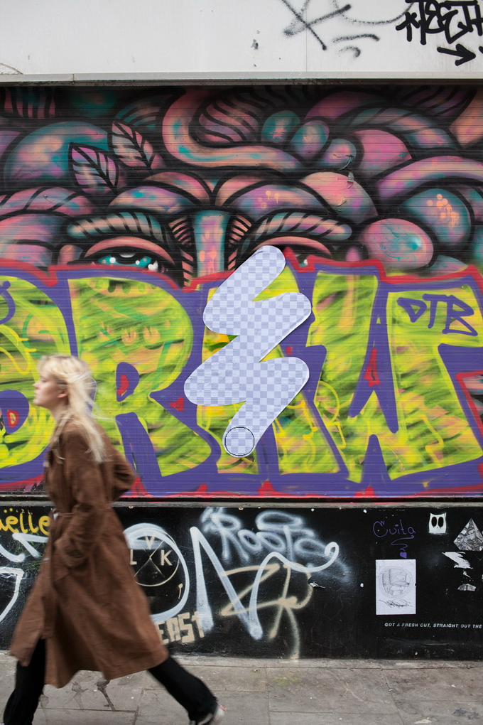 """Проект """"Street Eraser"""": уличный ластик стирает Лондон"""
