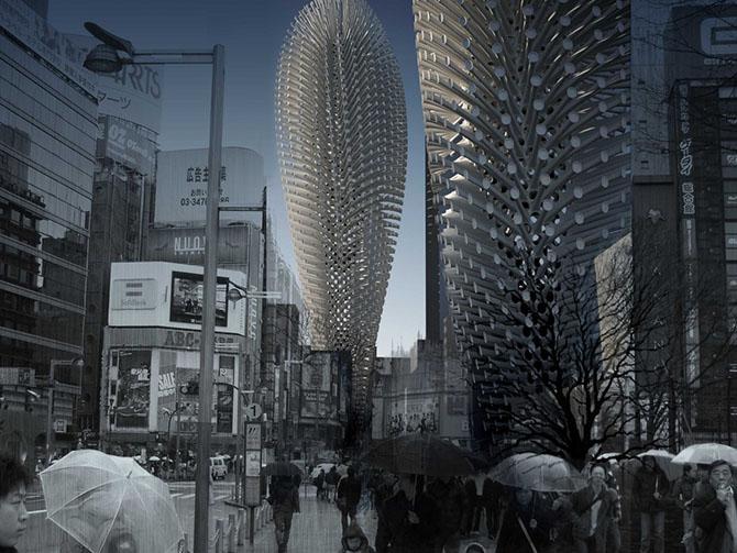 22 головокружительных идей для небоскребов будущего