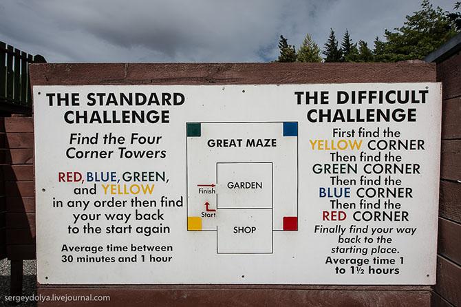 Экскурсия в новозеландский город иллюзий Puzzling World