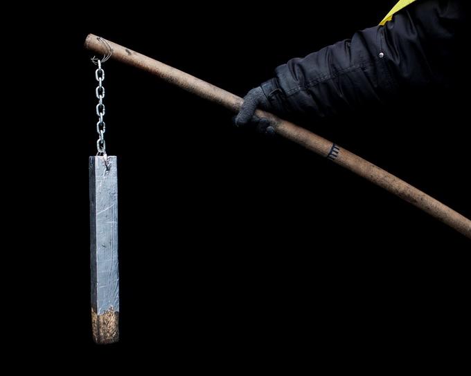 Оружие Майдана в фотографиях Tom Jamieson