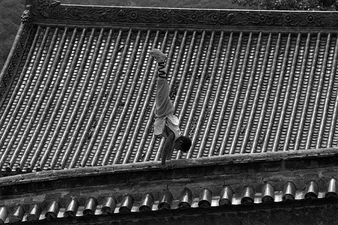 Монахи из Шаолиньского монастыря…