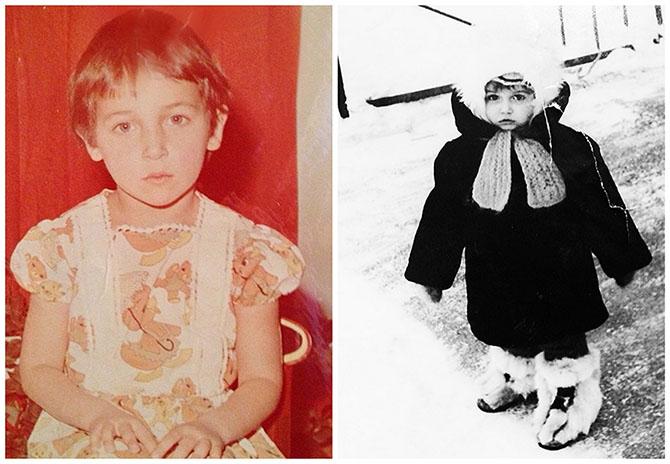 Как звезды выглядели в юном возрасте
