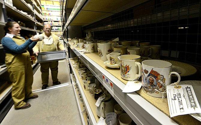 Внутри хранилищ музея Бимиш