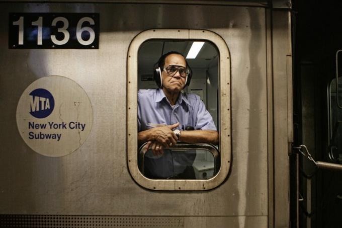 Водители Нью-Йоркского метро