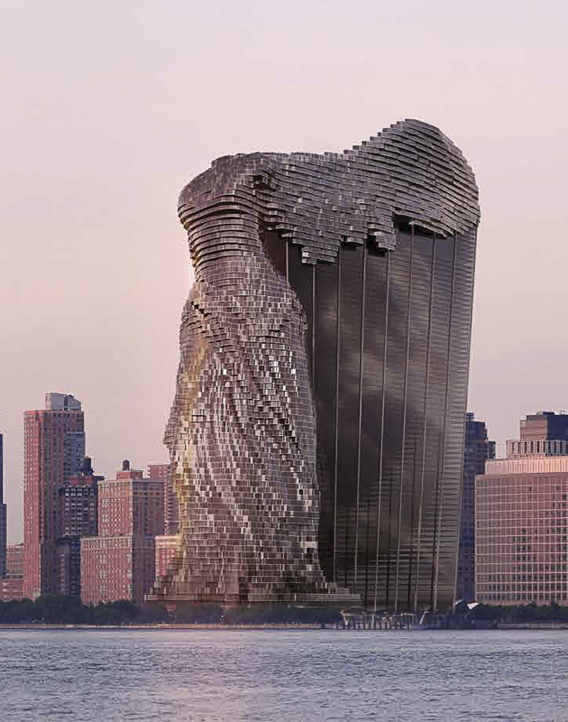 Фантастическая архитектура Василия Клюкина
