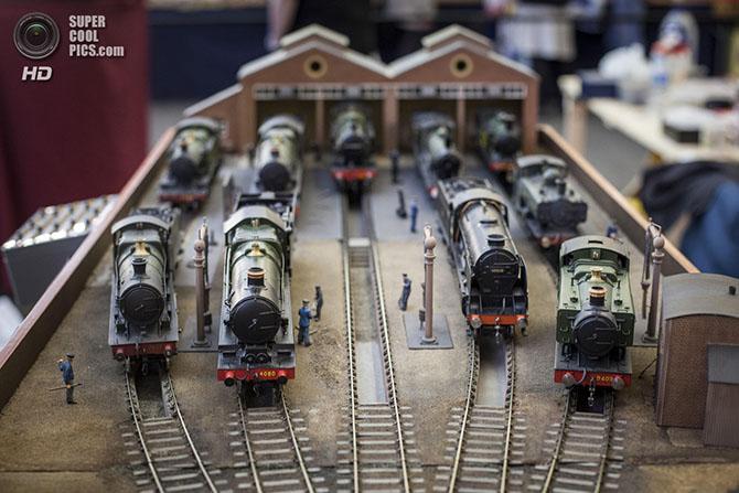 Как в Лондоне прошел фестиваль железнодорожного моделизма