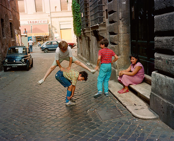 Яркие фотографии прекрасной Италии 80-х