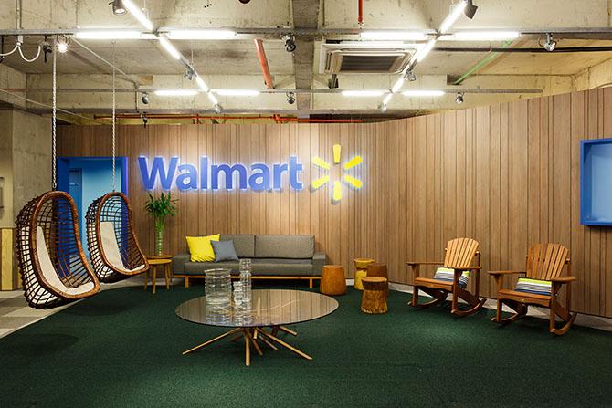 Штаб-квартира компании Walmart в Сан-Паулу
