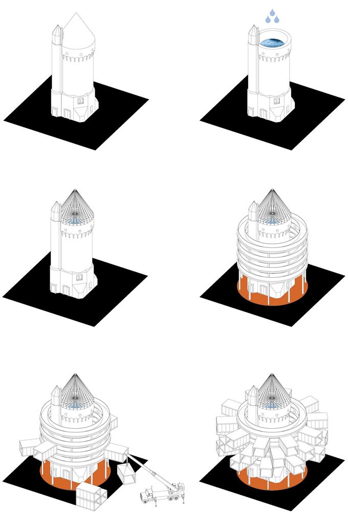 Новая жизнь старой башни