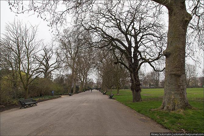 Прогулка по весеннему Лондону